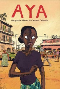 Aya, Marguerite Abouet, Book Cover