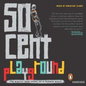 Playground, 50 Cent, audiobook cover, book cover, penguin audio