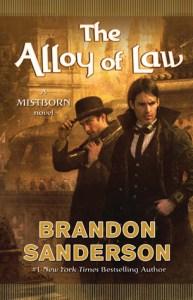 The Alloy Of Law, Brandon Sanderson, Book Cover, Waxillium, Wayne,