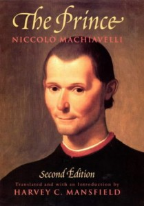 The Prince, Machiavelli, Book cover