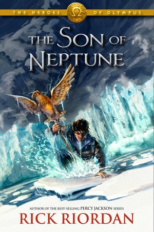 The Son Of Neptune, Rick Riordan, Audiobook Cover, Percy Jackson
