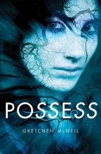 Possess, Gretchen McNeil, Book Cover, Blue