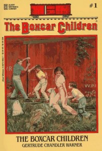 The Boxcar Children, Gertrude Chandler Warner, Book cover