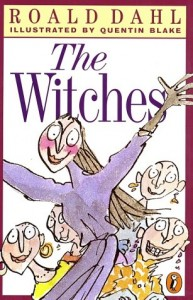 The Witches, Roald Dahl, Book Cover