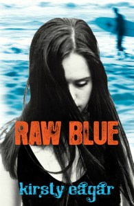 Raw Blue, Kirsty Eagar, Book Cover