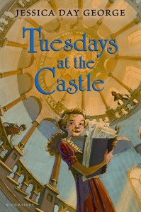 Tuesdays At The Castle, Jessica Day George, Book Cover, Princess Celie