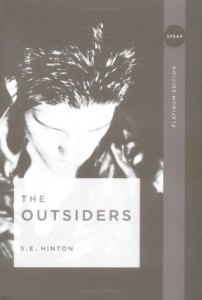 The Outsiders SE Hinton Book Cover