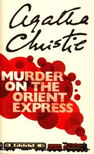 Murder On The Orient Express Agatha Christie Book Cover