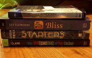 Bliss, Starters, To Kill A Mockingbird, The Edumacation of Jay Baker