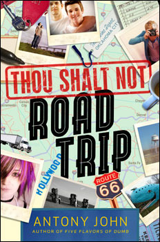 Thou Shalt Not Road Trip Antony John Book Cover