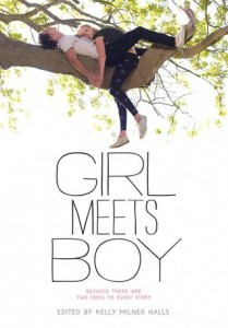 Girl Meets Boy Kelly Milner Halls Book Cover