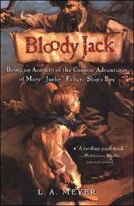Bloody Jack LA Meyer Audiobook Cover