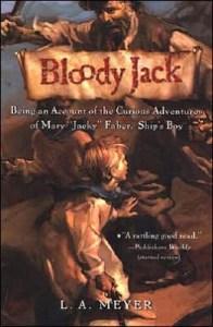 Bloody Jack LA Meyer Audiobook Cover