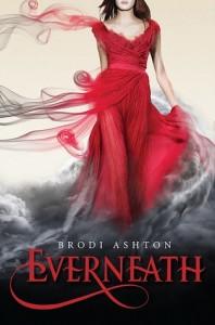 Everneath Brodi Ashton Book Cover, red dress
