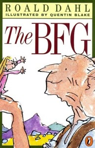 The BFG Roald Dahl Book Cover