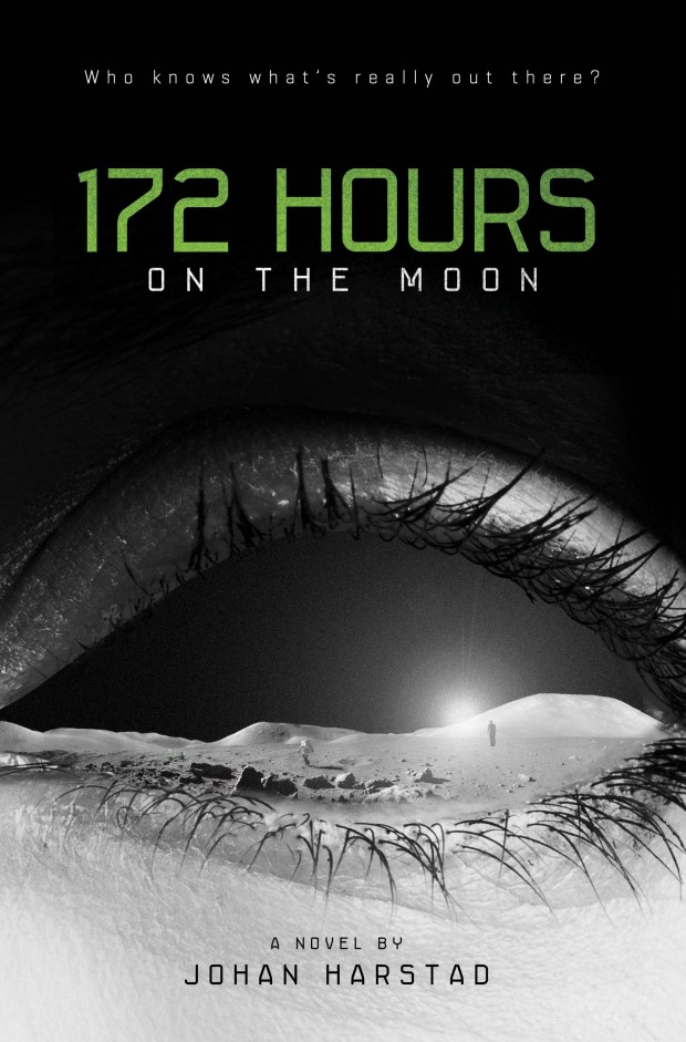 172 Hours On The Moon Johan Harstad Book Cover