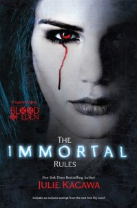 The Immortal Rules Julie Kagawa Book Cover