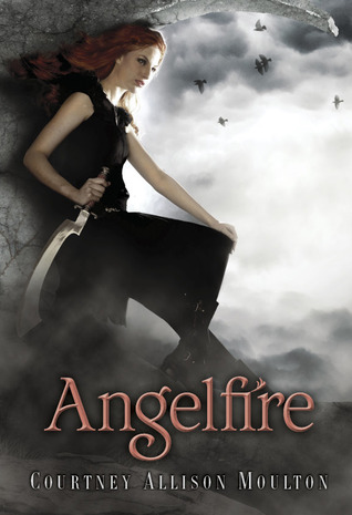 Angelfire Courtney Allison Moulton Book Cover
