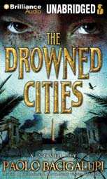 The Drowned Cities Paolo Bacigalupi Audiobook Cover