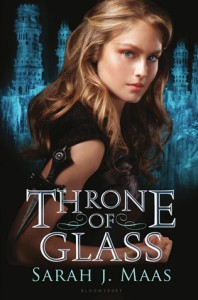 Throne Of Glass Sarah J. Maas Book Cover