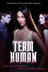 Team Human Justine Larbaleister Sarah Rees Brennan Book Cover