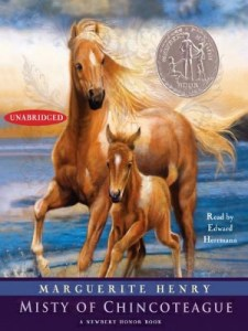 Misty Of Chincoteague Marguerite Henry audiobook cover