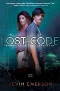 The Lost Code Kevin Emerson Book Cover
