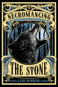 Necromancing The Stone Lish McBride Book Cover