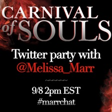 Carnival Of Souls Twitter Party Button