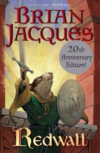 Redwall by Brian Jacques Book Cover