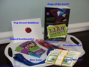 Lies That Bind Giveaway Prize Pack