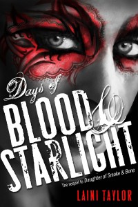 Days Of Blood And Starlight Laini Taylor Book Cover