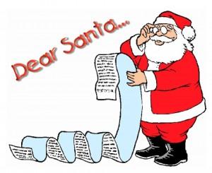 Dear Santa Graphic