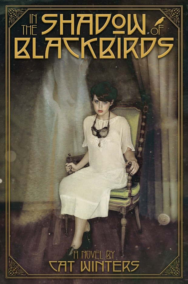 In the Shadow of Blackbirds Cat Winters Book Cover