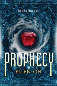 Prophecy Ellen Oh Book Cover
