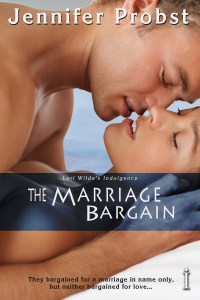 The Marriage Bargain Jennifer Probst Book Cover