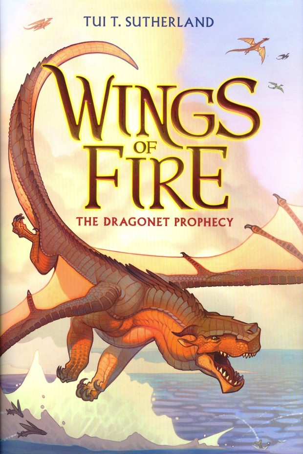 Wings Of Fire The Dragonet Prophecy Tui T Sutherland Book Cover
