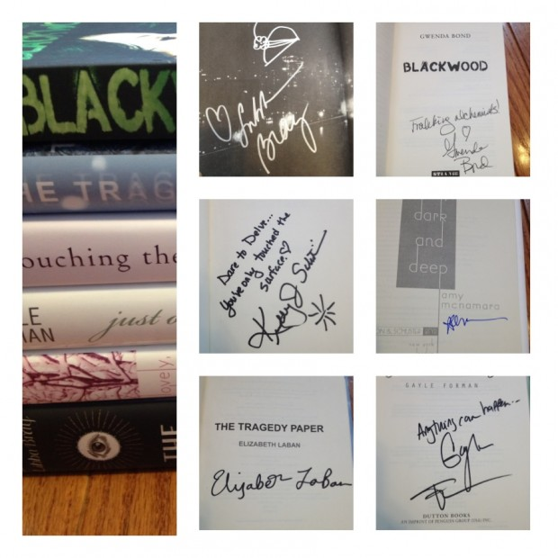 Signatures and signed books | Good Books And Good Wine