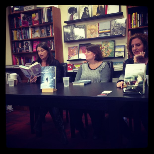 Amy McNamara, Elizabeth LaBan, and Gayle Forman | Good Books And Good Wine