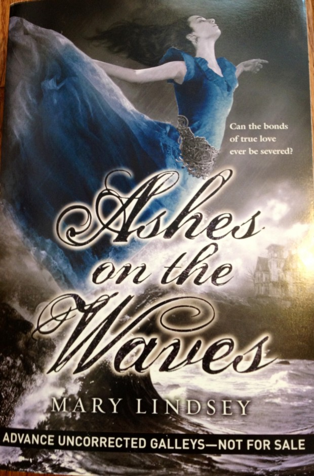 Ashes On The Waves by Mary Lindsey galley | Good Books And Good Wine