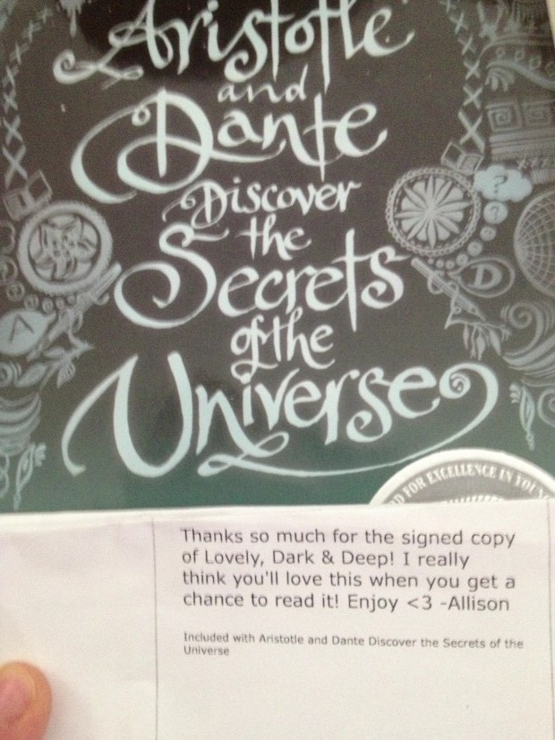Aristotle And Dante Discover The Secrets Of The Universe | Good Books And Good Wine