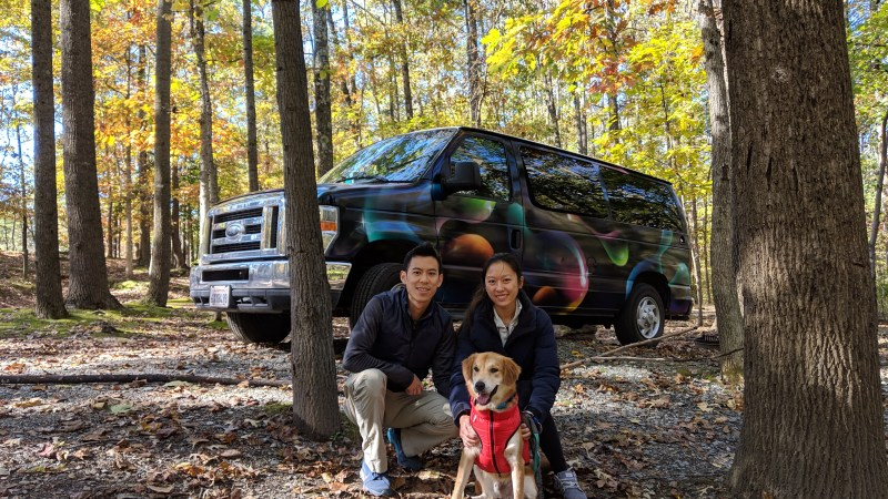 Cross-country roadtrip with a dog, a Q&A with Edwin