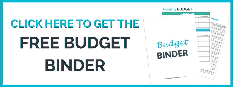 picture regarding Free Printable Budget Binder named No cost Finances Binder: Find the money for Your Fiscal with Benefit - GOODBYE Toward