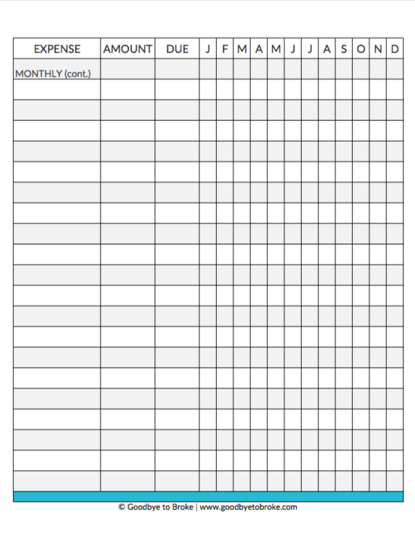photograph about Free Printable Budget Binder Worksheets called Free of charge Funds Binder: Afford Your Cash with Benefit - GOODBYE In the direction of