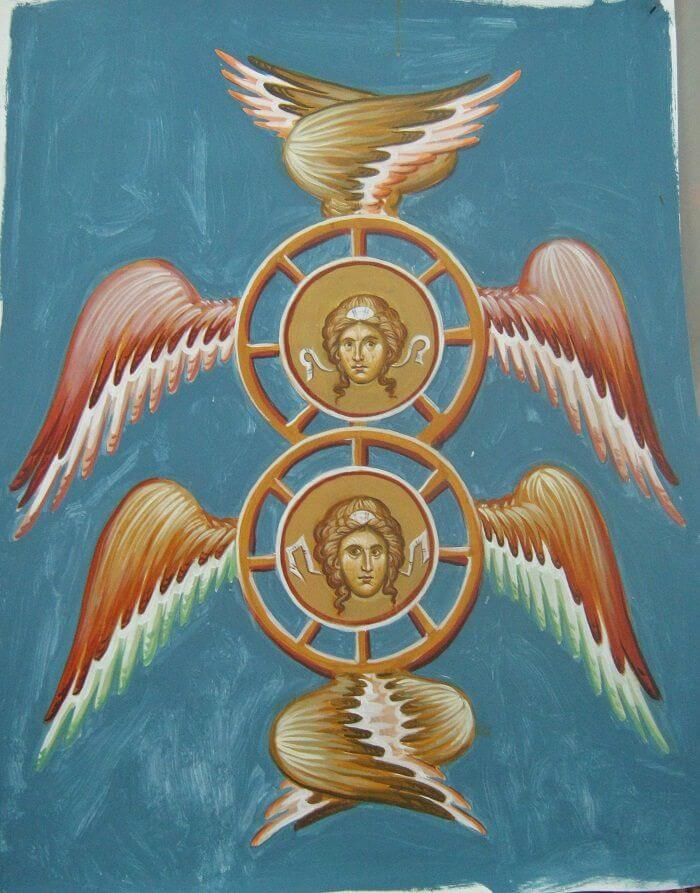 The Angelic Order of Thrones
