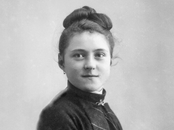 Young St. Therese of Lisieux