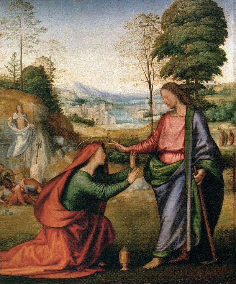 Noli Me Tangere, by Fra Bartolomeo c. 1506