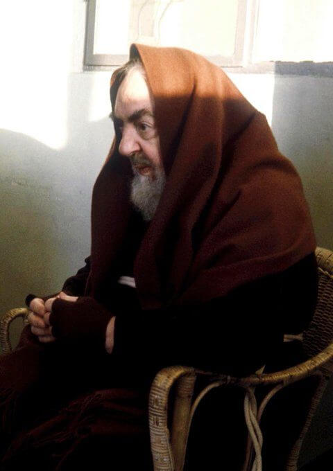 Padre Pio, united with Christ