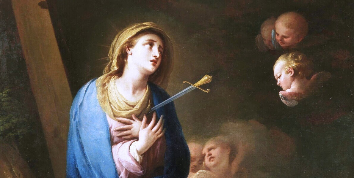 Know The 7 Sorrows and Promises of Our Lady of Sorrows, Queen of Martyrs
