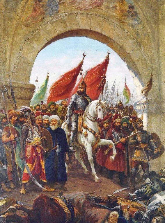 Mehmed II, Entering to Constantinople by  Fausto Zonaro